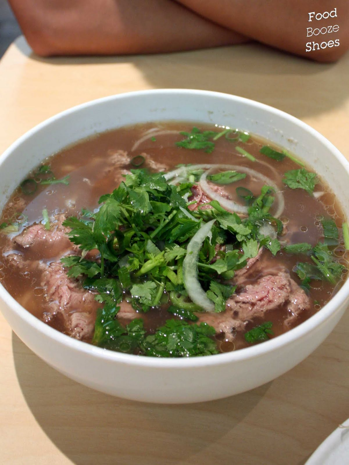 Food, booze and shoes: An Restaurant: Pho for you, pho for me