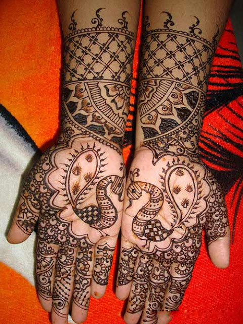 Eid mehndi styles for girls and women