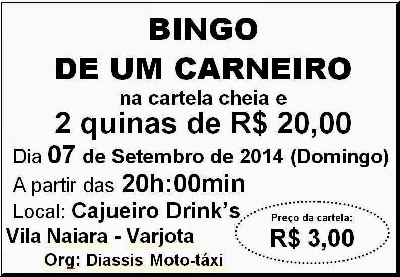 BINGO DE UM CARNEIRO