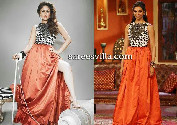 Kareena Kapoor and Deepika in same dress
