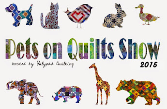 I Sponsored --- Pets on Quilts 2014 2015 2016