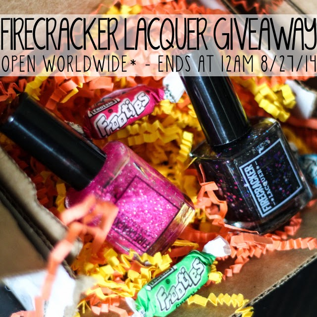 Firecracker Lacquer Giveaway