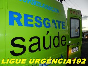 EM CASO DE ACIDENTE, LIGUE 192 É IMEDIATO