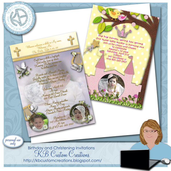 Preview invitation templates