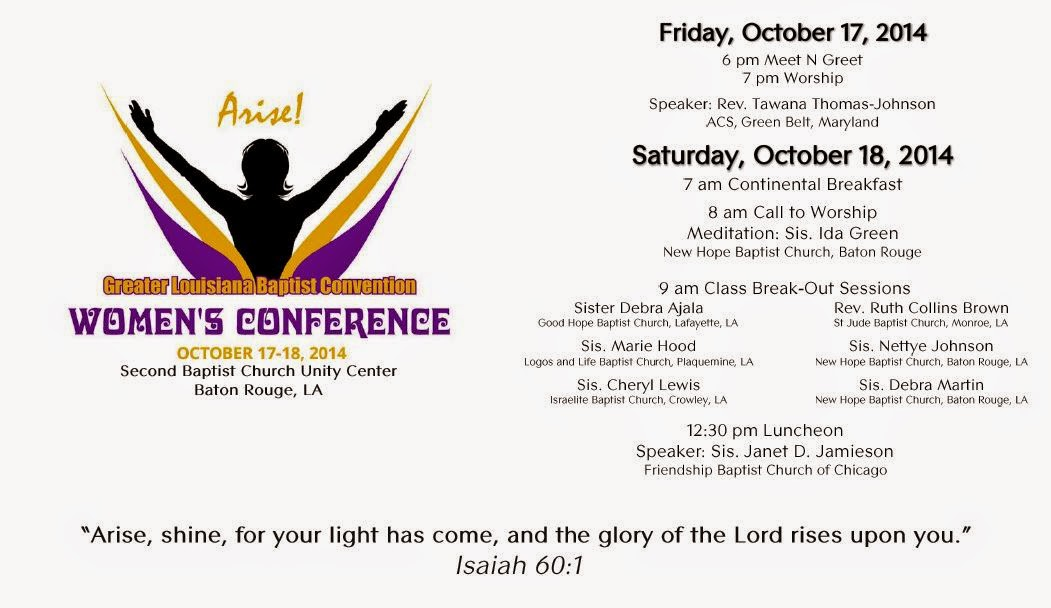 Arise GLBC Women's Conference