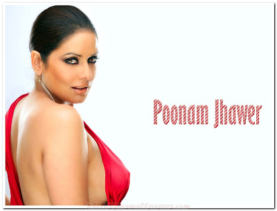 Bollywood Babe Poonam Jhawer Hot Wallpaper