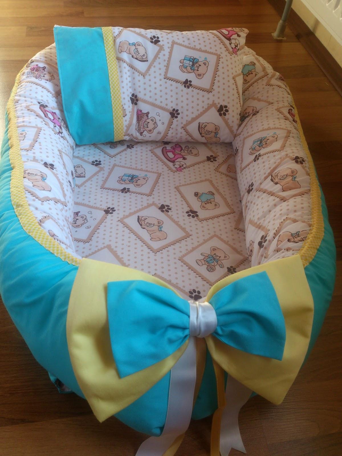 Как сшить гнездышко в кроватку для новорожденного своими руками