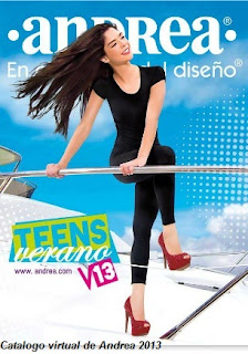 catalogo andrea teens verano 2013