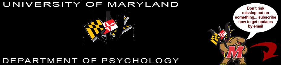 UMD PSYC E-News
