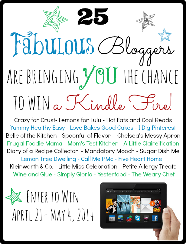 Enter to win a Kindle Fire HDX!