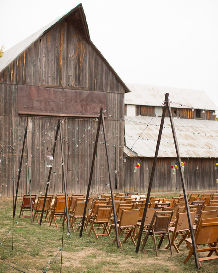WunderRosa Winery Wedding, Nebraska barn wedding