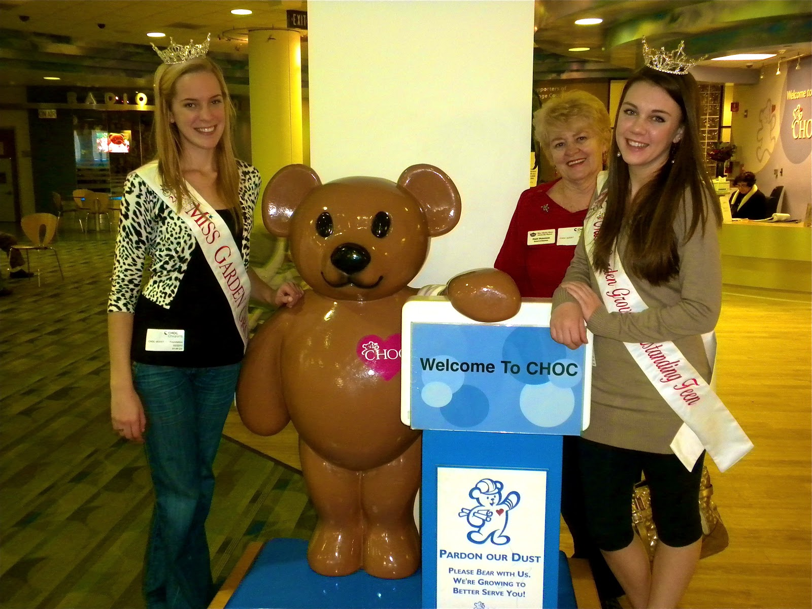Miss Garden Grove 2011: Another Trip to CHOC Hospital