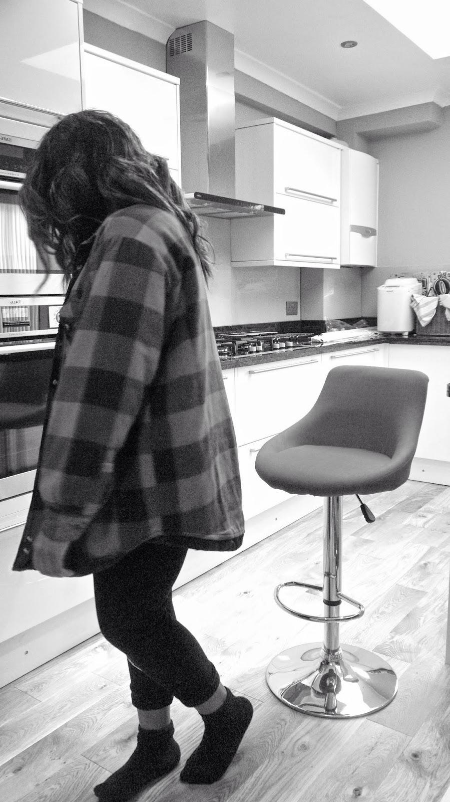 fashion blogger looney tunes forever 21 sylvester jogging bottoms black and white la mode d'emm