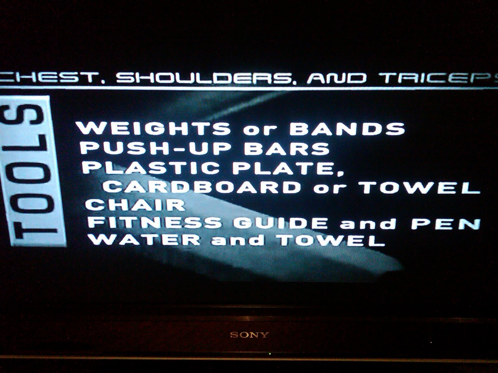 P90X Reviews: Chest, Shoulders, and Triceps ~ X MIKE