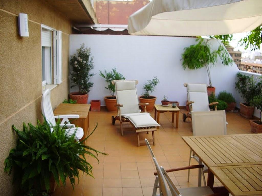 Consejos para decorar jardines en terrazas y balcones for Fotos terrazas pequenas