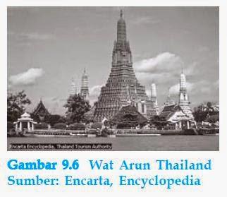 wat arun di thailand