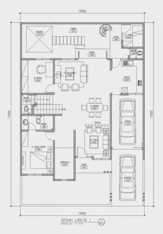 Gambar Rumah Minimalis 1 Lantai Dan Denahnya Design Rumah Minimalis