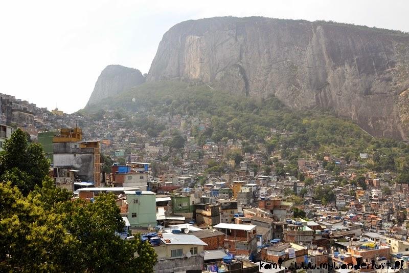 favelas in Rio