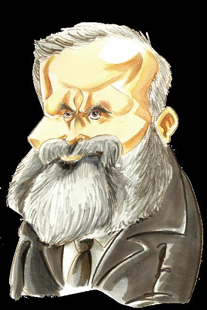 Caricature Jean Jaurès