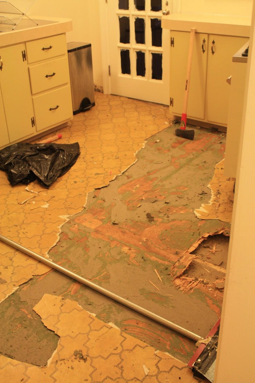 Restoring the splendor old house restorations old home for Used linoleum flooring