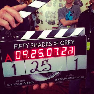 FOTOGALERÍA: Primeras imágenes del rodaje de 'Cincuenta sombras de Grey'