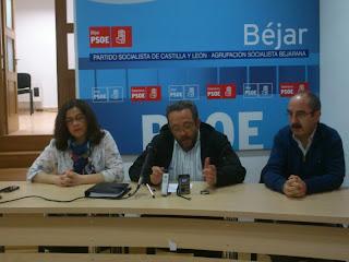 Elena MArtin Vazquez, Jose Luis Rodriguez Celador y Juan Tomás Hdz.