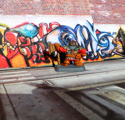 Dwarf, Heroquest, Painted