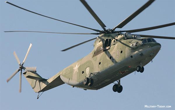 Mi-26 HALO Transport Helicopte