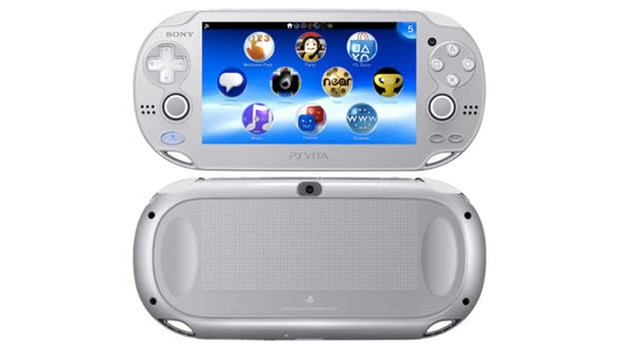 sony PS vita ice silver