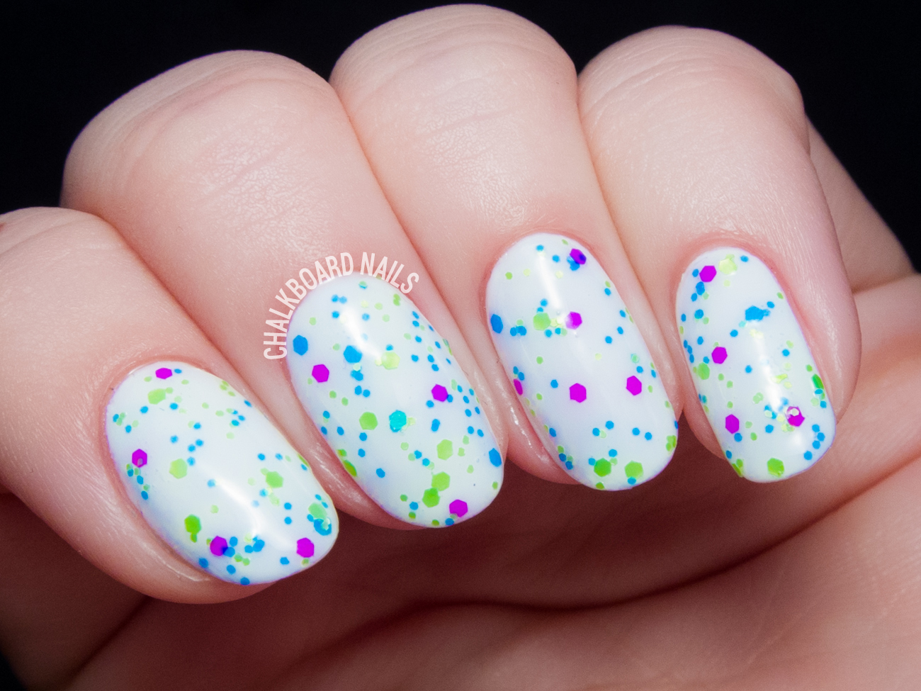 China Glaze Can I Get An Untz Untz via @chalkboardnails
