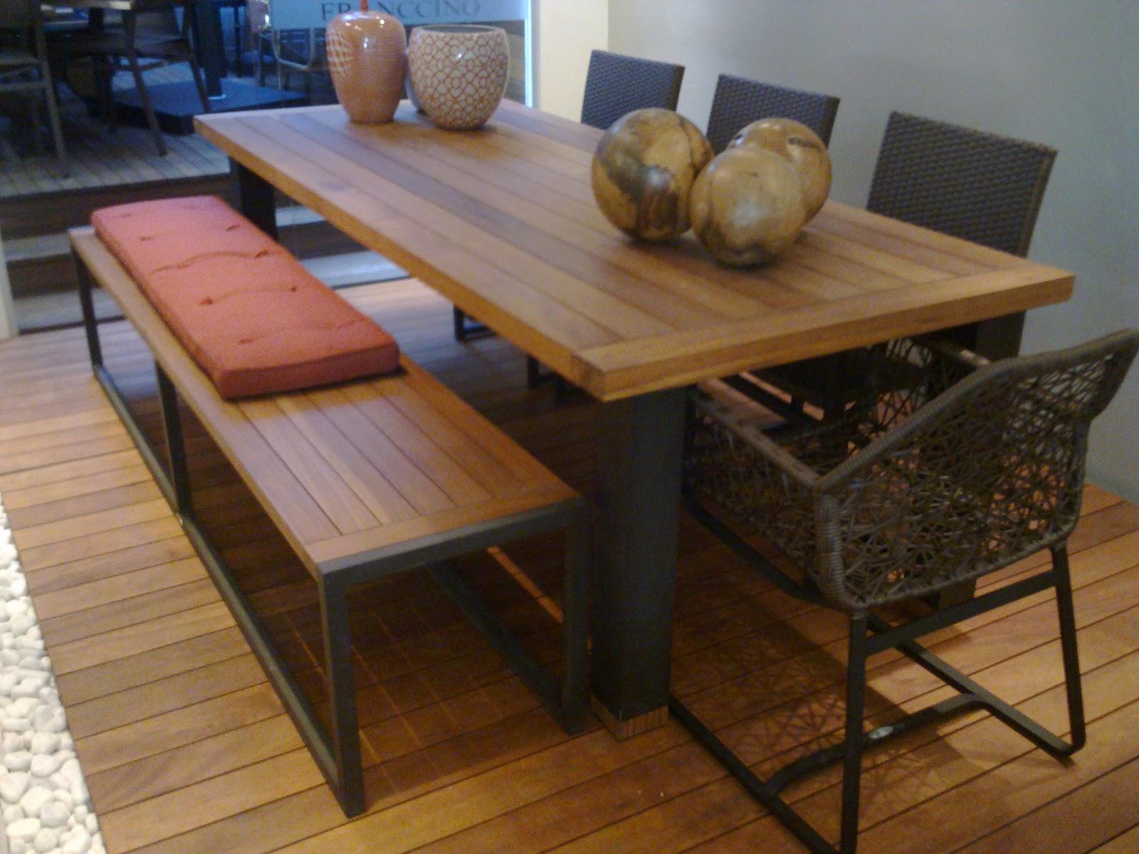 mobiliario de jardim lojas:CAROL CARNEIRO: Móveis para jardim #6A411F 1600x1200