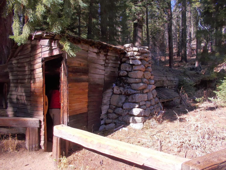 Dave 39 n 39 kathy 39 s vagabond blog exploring the giant forest for Log cabin sequoia national park