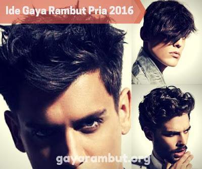 Top ide gaya rambut pria 2016