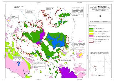 Peta Lokasi DPCLS Kepulauan Riau
