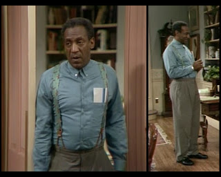 Cosby Show Huxtable fashion blog 80s sitcom Cliff Bill Cosby