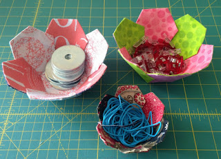 Small knick-knacks love to call a fabric bowl home
