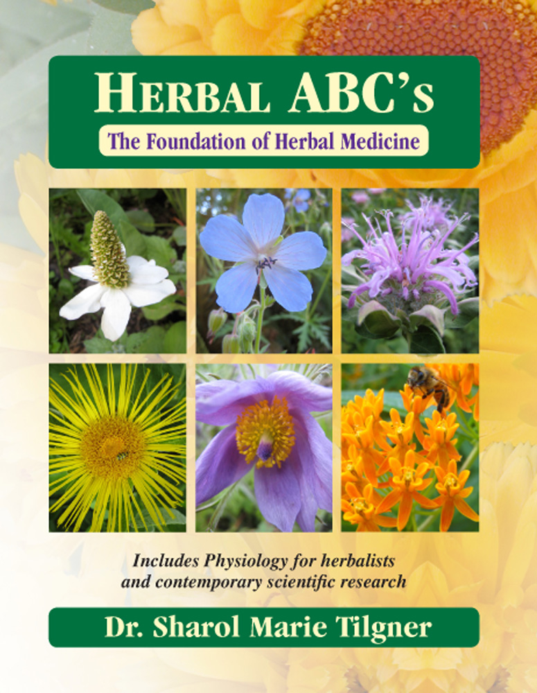 Dr. Tilgner's new herb book.