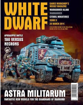 9 de la White Dwarf Weekly