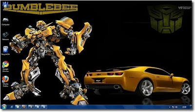 The Transformers Windows 7 Theme consists of 20+ HD Transformers Wallpapers, Custom Transformers icons and Movie sounds bits for a complete Transformer experience on your desktop.  Although Transformers Movie won't win awards for the script or the story, they certainly are right at the top in use of CGI. The process of seeing a transformer changing into a car or a truck is pretty awesome.