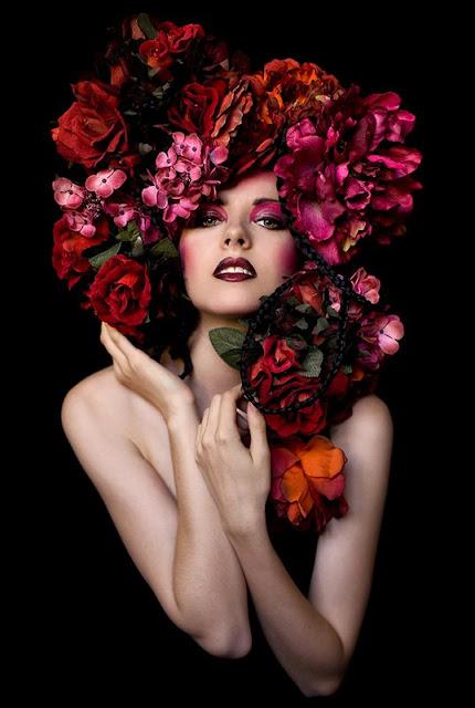 флористические платья и аксессуары