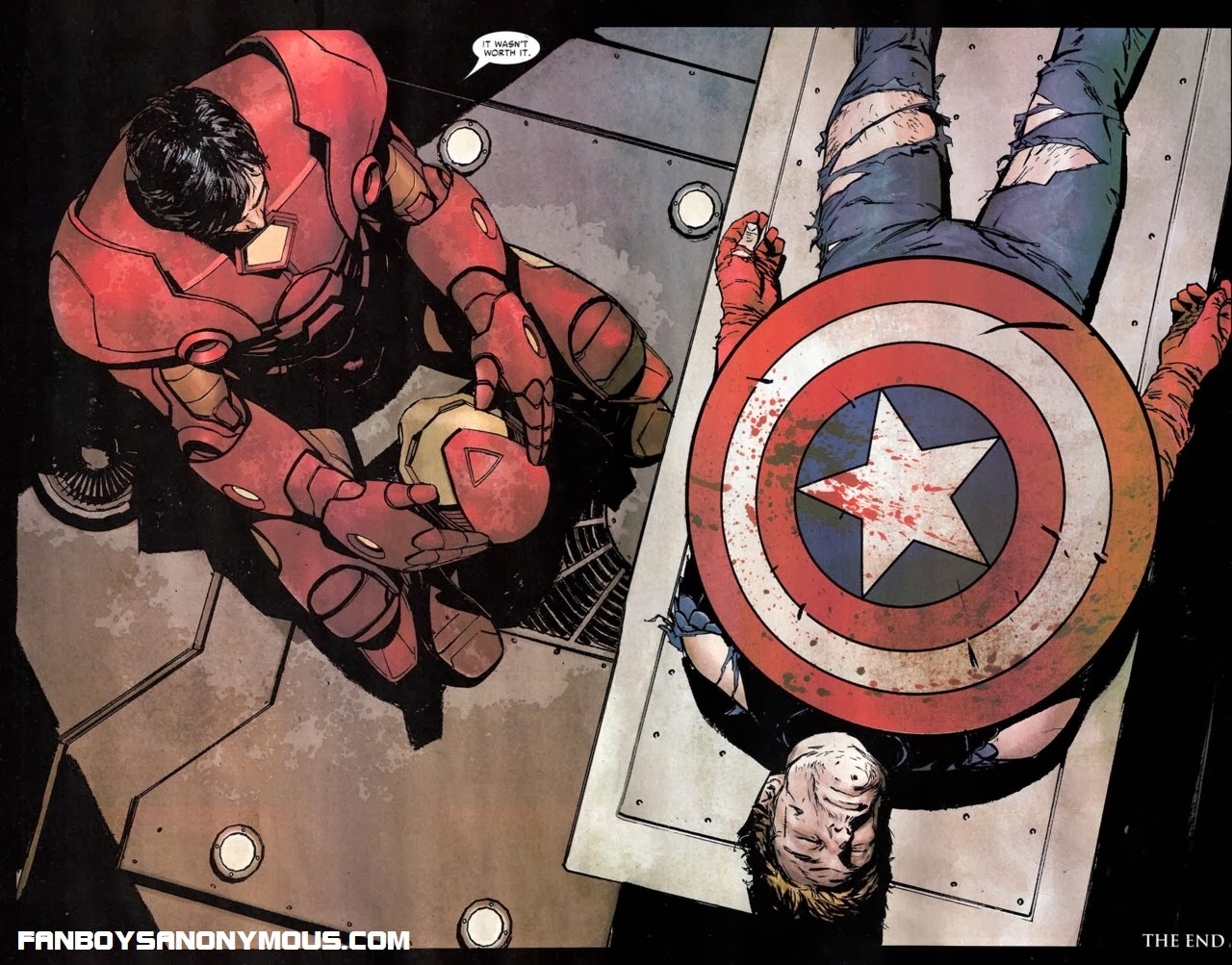 The death of Captain America after Civil War