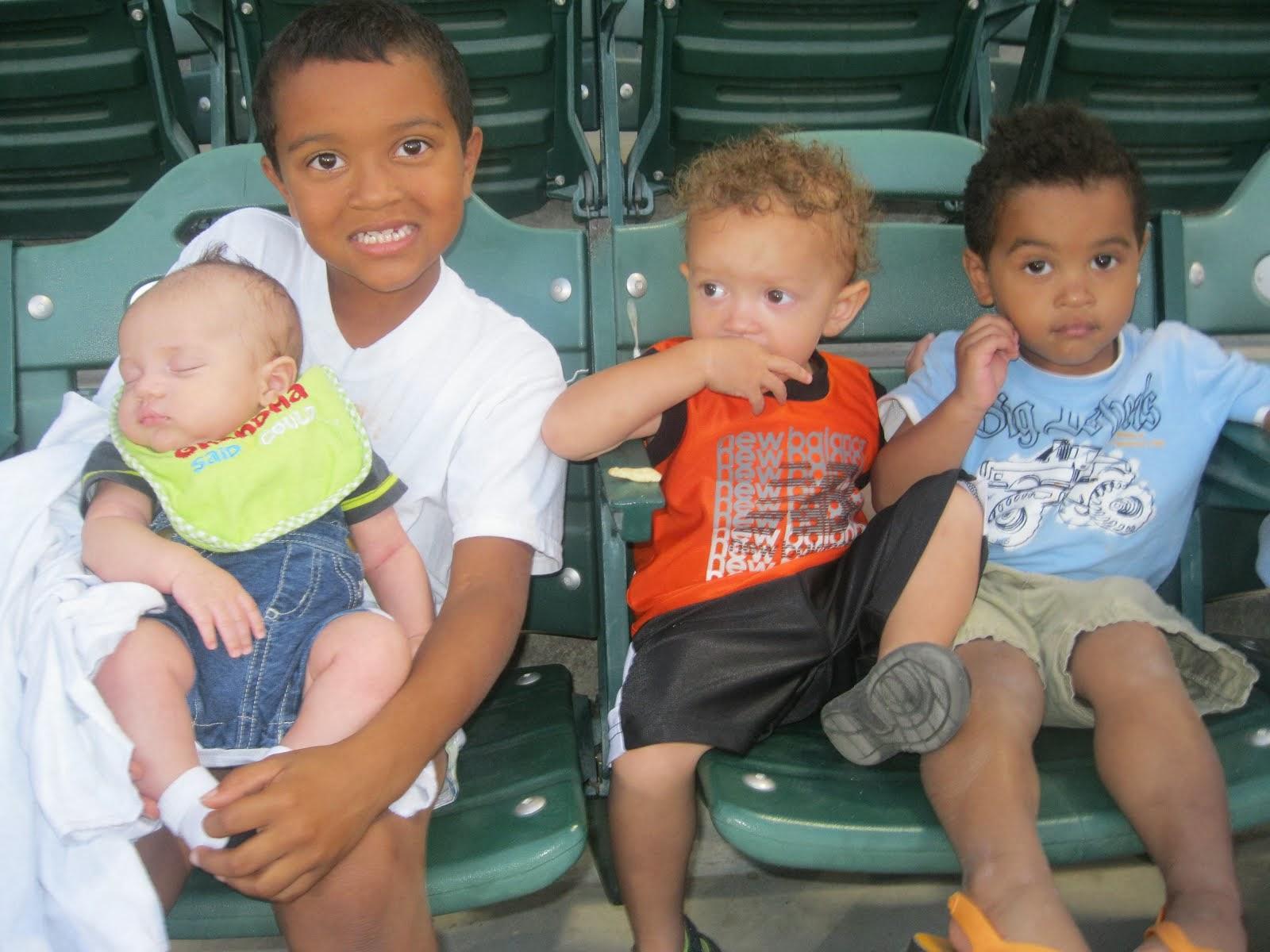 my 4 grand babies