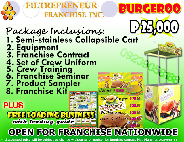 BUY 1 TAKE 1 BURGER FOOD BUSINESS