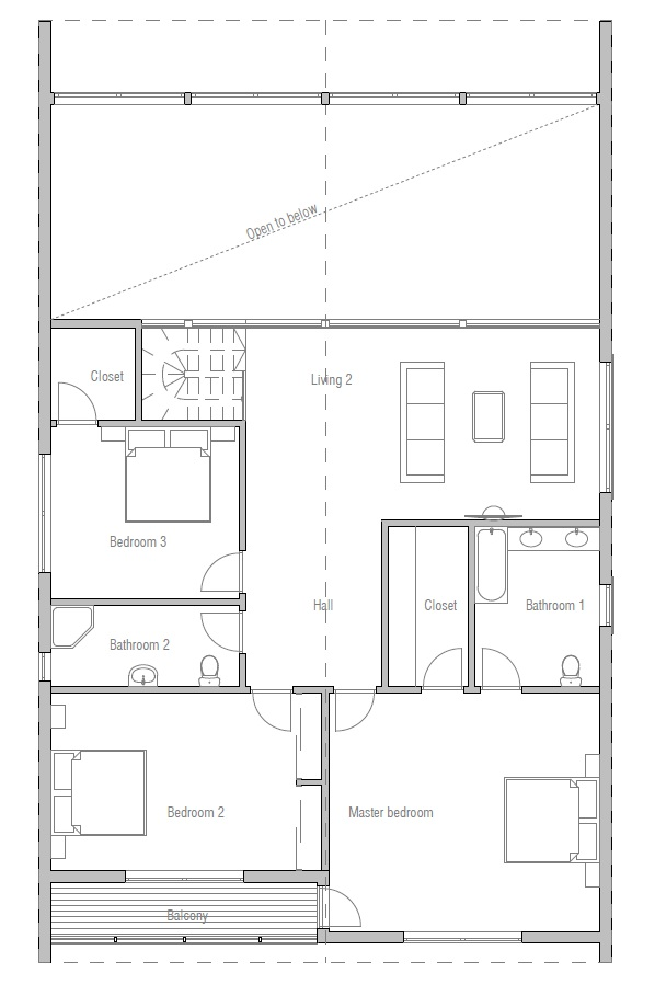 Australian House Plans Contemporary Australian Home Plan