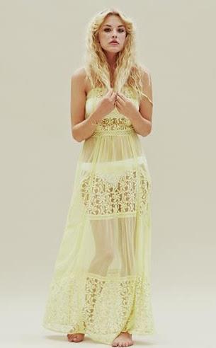 vestido largo Primark verano 2015