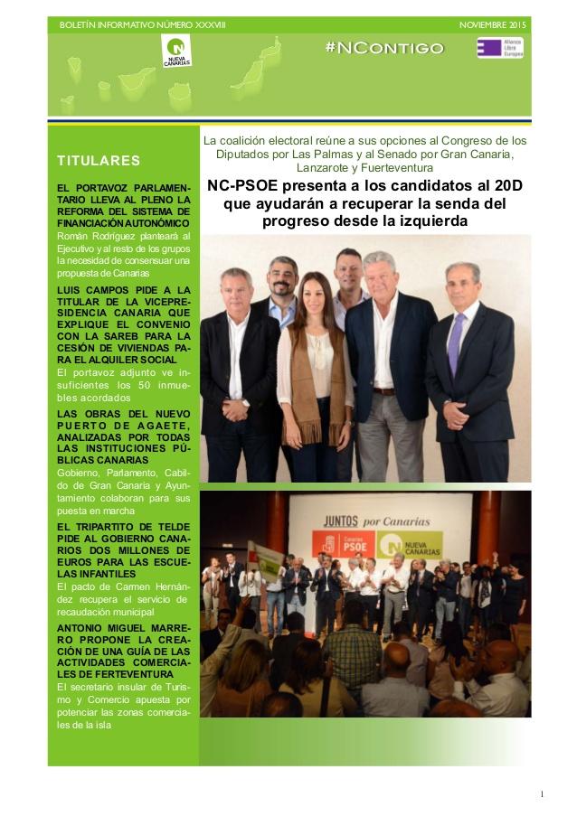BOLETIN XXXVIII Nueva Canarias