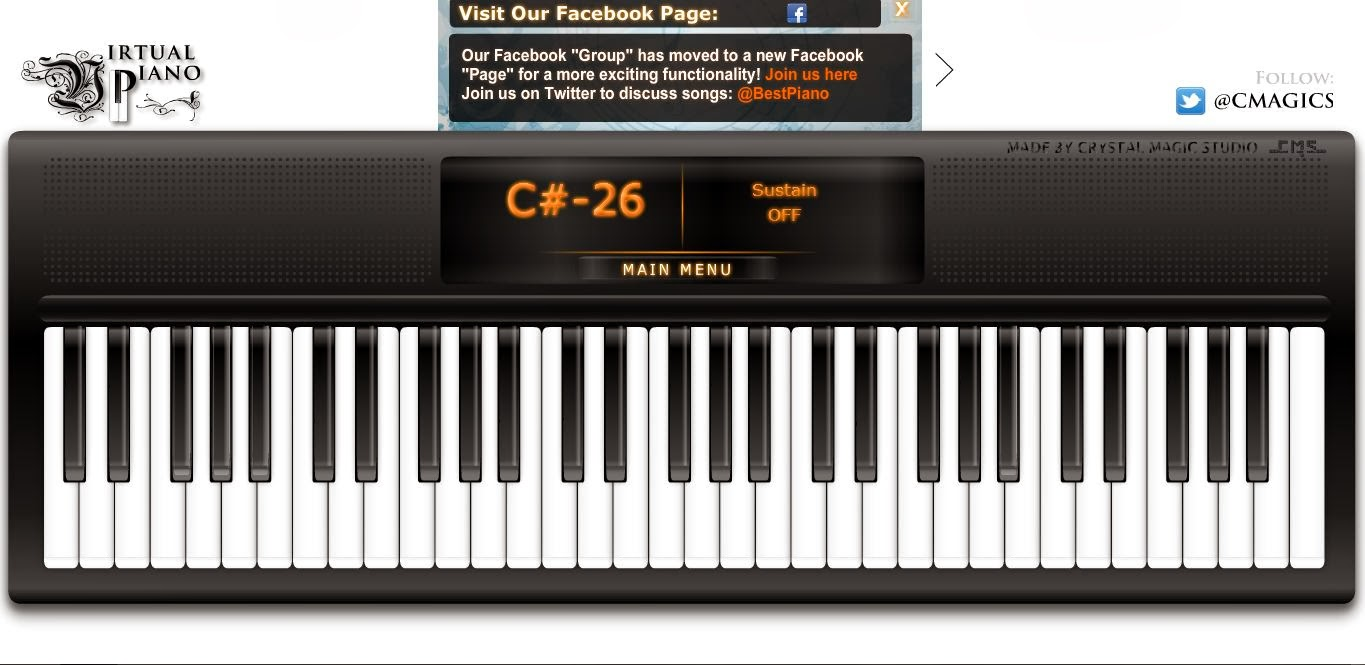 how to know which octave to play on piano