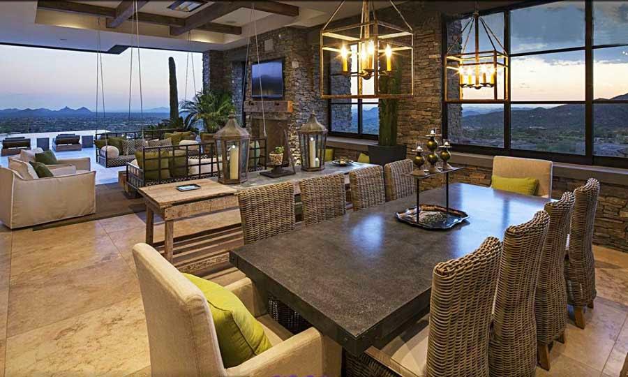 Desert mountain retreat architector scottsdale arizona - Casas de lujo en bilbao ...
