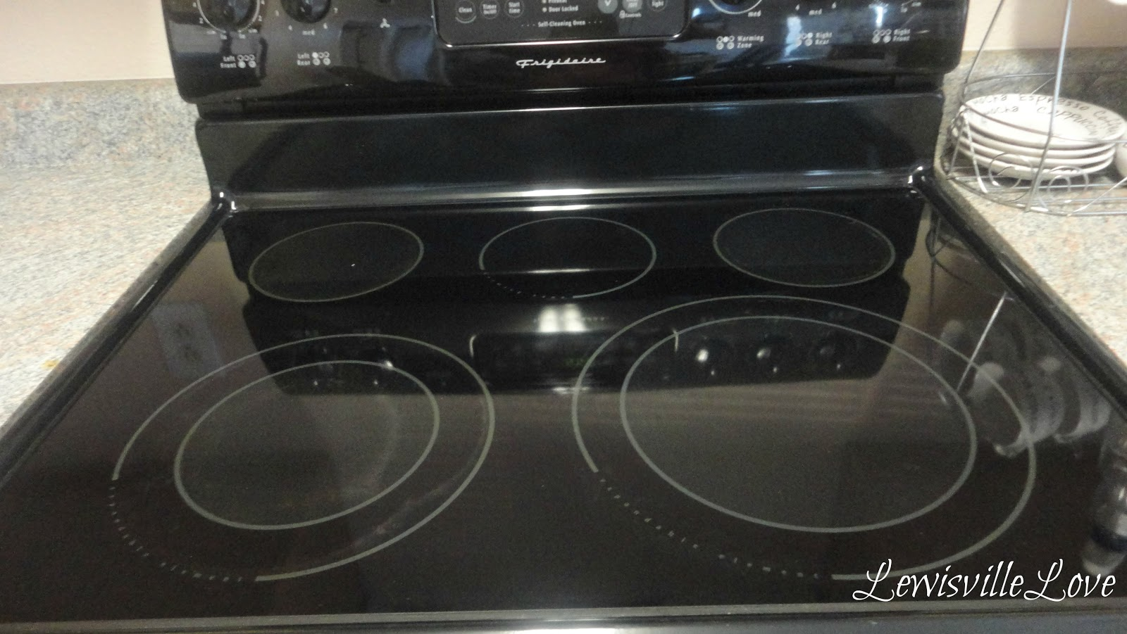 Lewisville love how to clean a glass top stove How to clean top of oven