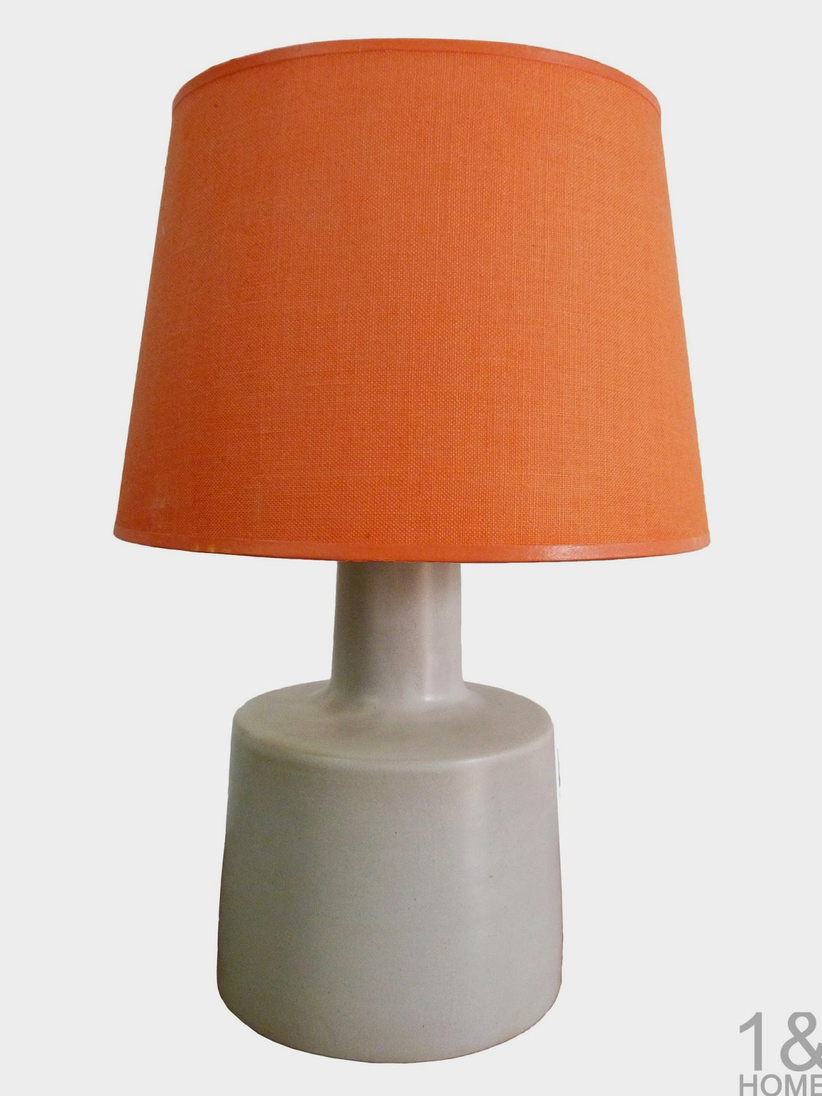 Gordon Martz for Marshall Studios grey ceramic table lamp